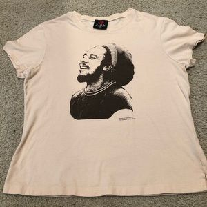 Bob Marley Fitted Womens T-shirt